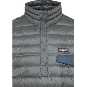 Patagonia Down Snap-T Veste Homme, forge grey